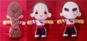 Street Fighter: Vega/Claw plush by ConsultTheBlackMage