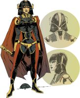 Big Barda Redesigned by mysteryming