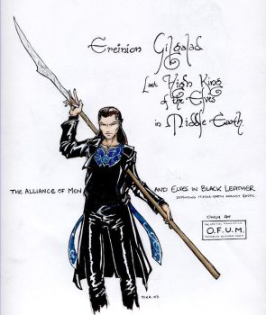 Gil-galad in Black Leather by Pika-la-Cynique