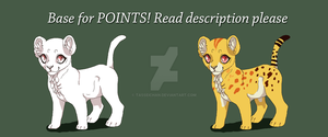 .:Base for POINTS:. by Tasseichan