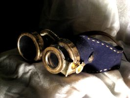 Steampunk Goggles by hever