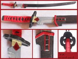 BLOOD + - Saya second sword by AridelaAriadne