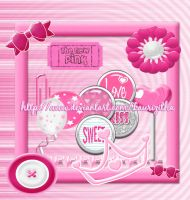 Scrips Pink by Laurizitha