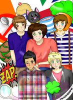 One dream, one band, ONE DIRECTION. by Cheni-chan