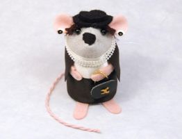Coco Chanel Mouse by The-House-of-Mouse