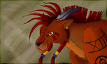 FF VII :: Red XIII by CCDragon-93
