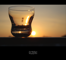 A glass of light by Immuniselectrun
