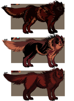 $3 wolf adopts! by miasarah