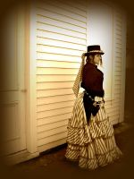Old Timey Steampunk Bodice by grg-costuming