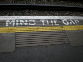 Mind the gap by Gardek
