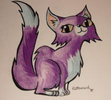 Cute Cat sideview by raaych1