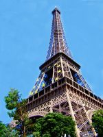 Eiffel Tower by Lionel92