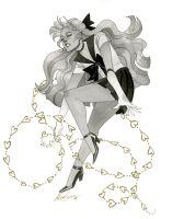 Sailor Venus - HeroesCon 2014 sketch by kevinwada