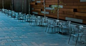 Cafe seating by photoman356