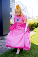 Princess Peach at Anime North 2014! by Lightning--Baron