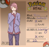 Poke-Village App: Reve by MayPotato