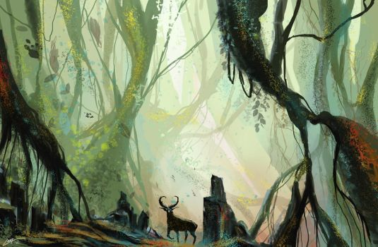 In the Forest by Lanasy