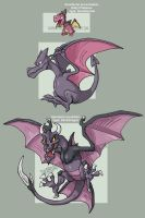 Aerodactyl evolution line
