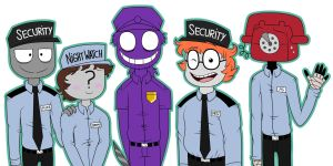 The Security Guards by MLPegasis4898