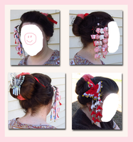Maiko hairstyle by EruwaedhielElleth
