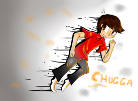 .:RE-TRY!:. ChuggaAconroy by Meowy-Pixel