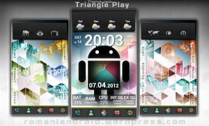 Triangle Play - Android Theme by romaniandroid