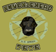 KnuckleHead Pete T-Shirt Design by StaticRed