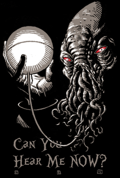 Can You Hear Me Now? by cs3ink