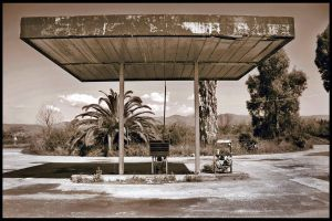 destroyed gas station by Anestis9985