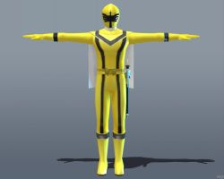 MAGI YELLOW [Super Sentai Battle: Ranger Cross] by Goreface13