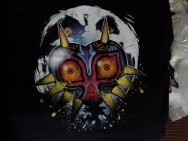 Majora's Mask shirt by sephiroth1204