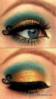 Arabic Eyes! :) by GlitterGirlC
