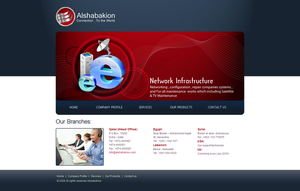 Alshabakion Website Contact by safialex83