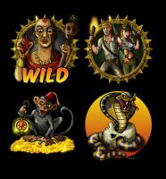 Game Symbols Relic Raiders by JenHell66