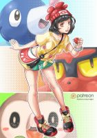 Pokemon Sun and Moon - Trainer by Redjet by Redjet00