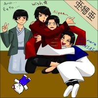 APH- East Asia Bros by thingy-me-jellyfis