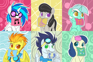 BUTTONS!  Set 3 of ???? Lyra+BonBon late edition! by Dreatos