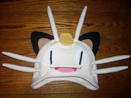 Meowth Hat by ChristopherDurdle