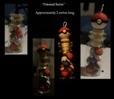 Pokeball Bottles by Lifeless-Endless