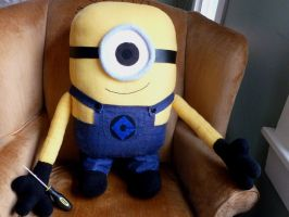 Huge Minion Plushie by greenchylde