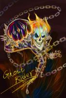 Ghost Rider by SharonAnkh