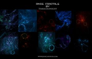 Rings fractal by starscoldnight by StarsColdNight