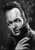 Joe Strummer by Parpa