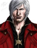 Dante -DMC4- colored by SaiyukiMarie39