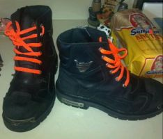 My Harley Davidson boots by Pheel-my-Phil