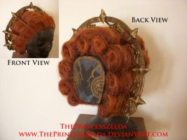 Ganondorf's Wig and Headpiece by ThePrincessZelda