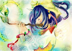 Flute by akuiesh