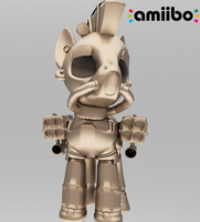 Limited Edition Golden SteelHooves Amiibo by The4thaggie