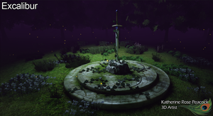 Excalibur: The Sword in the Stone - 2013 by KatherineRosePeacock