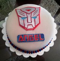 Transformers Cake by Bluesoul1
